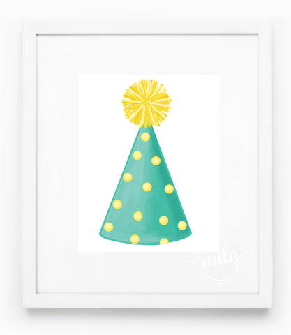 Party Hat Art Print