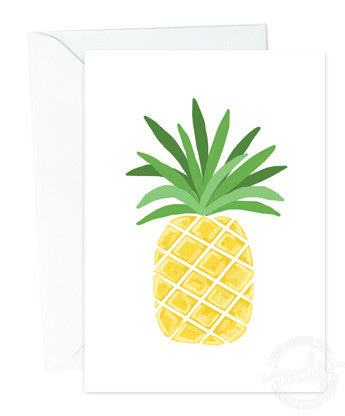 Pineapple Note Card Set