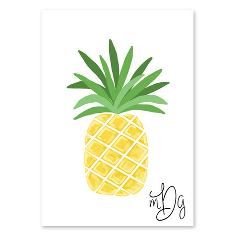 Pineapple Note Card