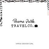 Theme Park Travel Co. Logo Design