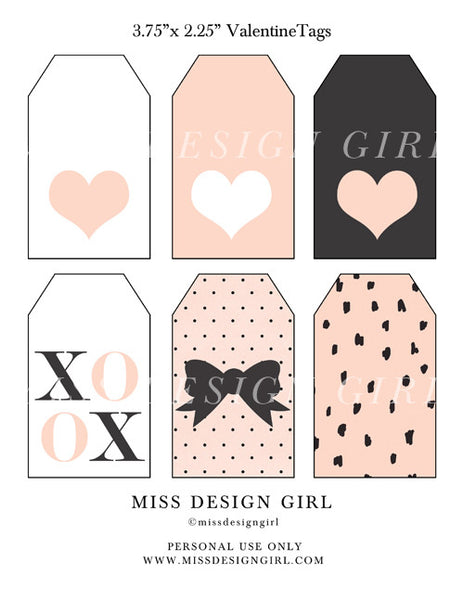 Love Printable Gift Tags