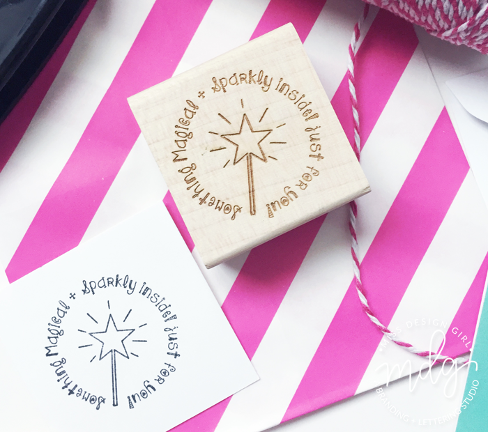 Something Magical and Sparkly Stamp