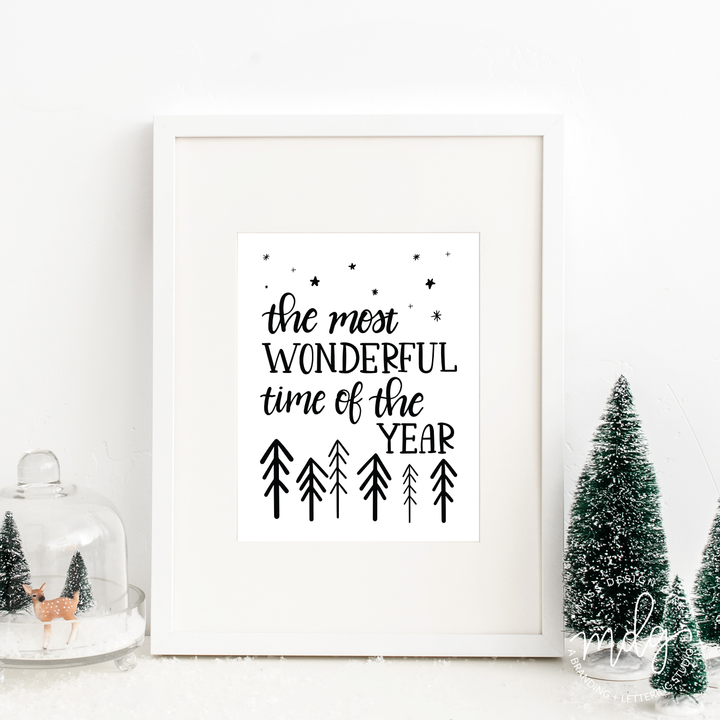 Most Wonderful Time of the Year Print