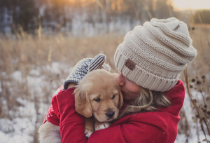 Cuddling with your pets helps reduce stress - Sunergetic Premium Supplements
