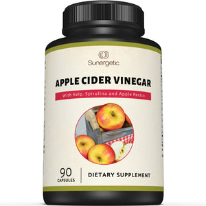 Premium Apple Cider Vinegar Capsules - Sunergetic