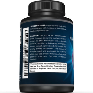 Magnesium Citrate & Oxide Supplement