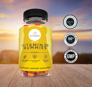 Premium Vitamin D3 Gummies – 2000 IU of Vitamin D3 per Serving - Sunergetic