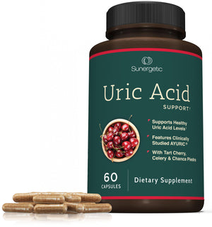 Premium Uric Acid Support Supplement - Sunergetic