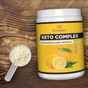 Keto Complex - Premium Exogenous Ketones BHB Salts with MCT Oil Supplement - Sunergetic