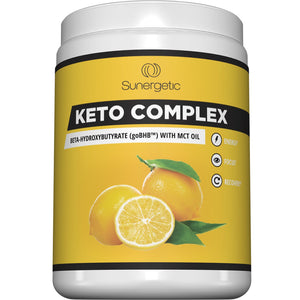 Keto Complex - Premium Exogenous Ketones BHB Salts with MCT Oil Supplement
