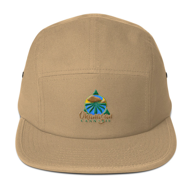 Okanagan Cannabis Five Panel Cap