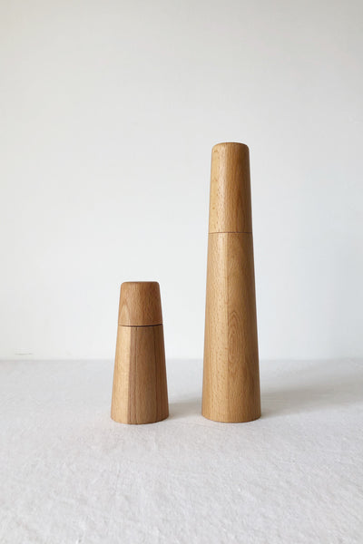 BEECH WOOD SALT AND PEPPER GRINDER MILL