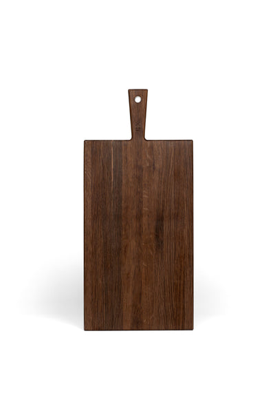 SMOKED OAK SERVING BOARD MEDIUM
