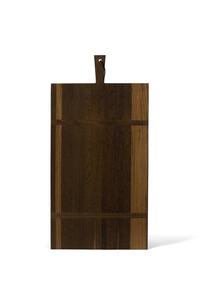 SMOKED OAK SERVING BOARD EXTRA LARGE