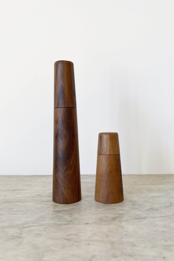 BLACK WALNUT SALT AND PEPPER GRINDER MILL