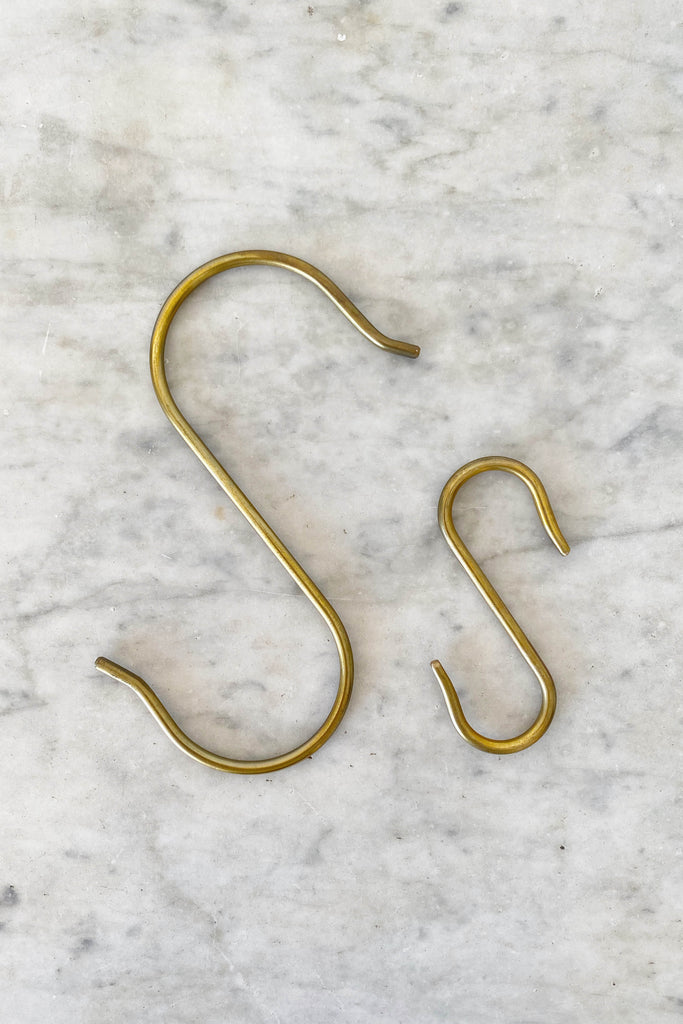 BRASS S-HOOK