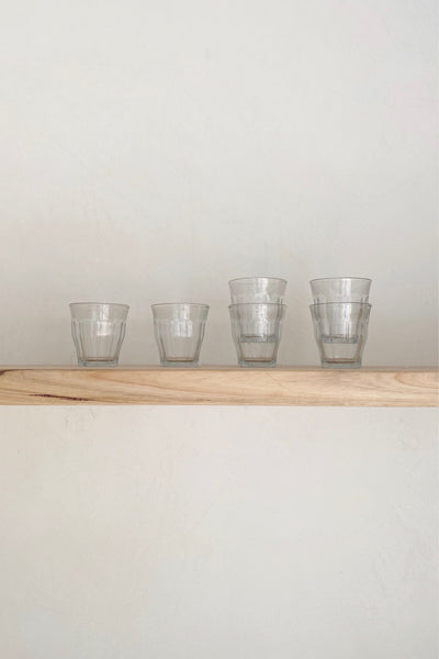 CLASSIC FRENCH TABLE GLASSES - SET OF 6