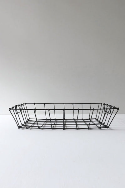 WIRE DESK BASKET - MEDIUM