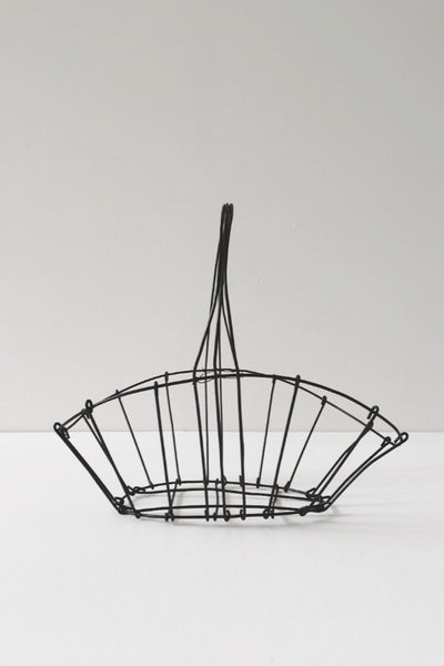 WIRE GATHERING BASKET