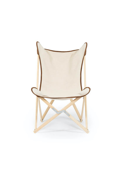 TRIPOLINA CHAIR IN NATURAL WITH SUEDE