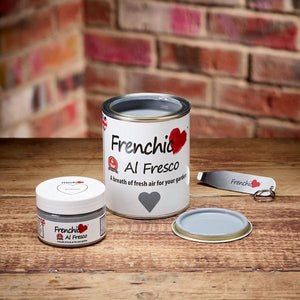 Yes you can now paint tiles with Frenchic Al Fresco!
