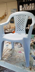 Painting plastic with Frenchic Al Fresco