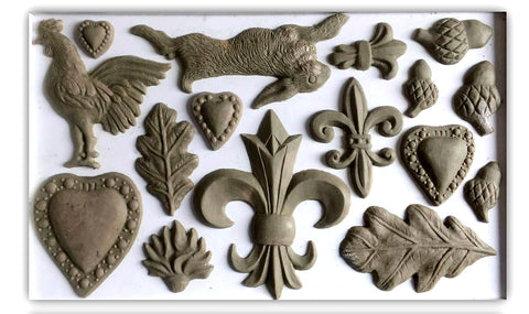 IOD Decor Mould - Fleur de Lis