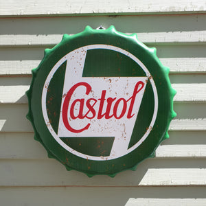 Castrol Bottle Top Wall Plaque