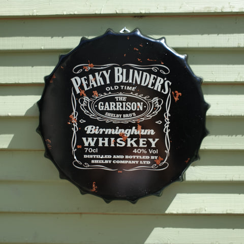 Peaky Blinders Bottle Top Wall Plaque