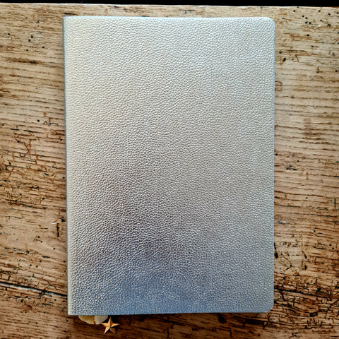 Silver notepad