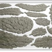 IOD Decor Mould - Wings and Feathers - Doodledash