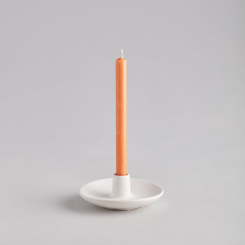 Matte White Mini Candle Holder
