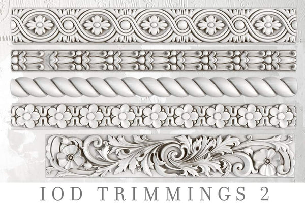 IOD Decor Mould - Trimmings 2