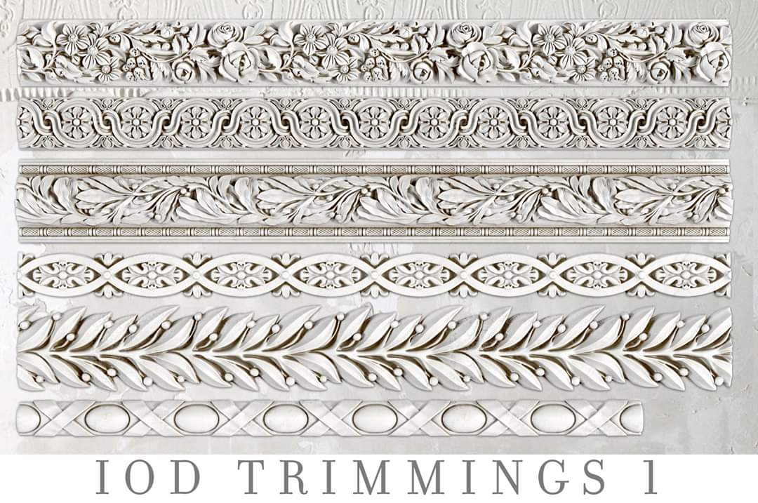 IOD Decor Mould - Trimmings 1