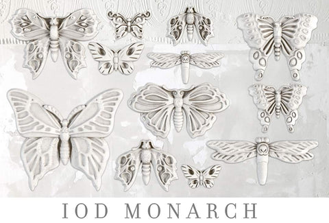 IOD Decor Mould - Monarch