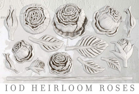 IOD Decor Mould - Heirloom Roses