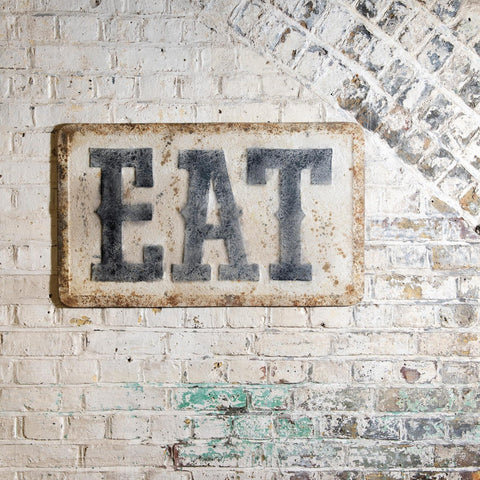CLOVELLY 'EAT' WALL PLAQUE