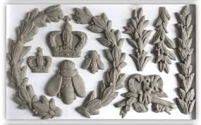IOD Decor Mould - Laurel - Doodledash