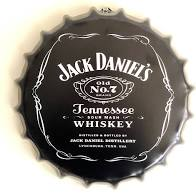 Jack Daniels Bottle Top Wall Plaque
