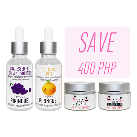 Piringubu Lactic Acid Peel Set