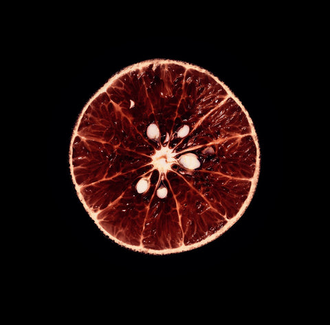Blood Orange Print