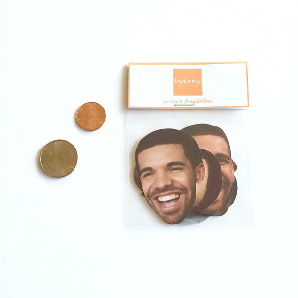 Drizzy Drake Emotions Sticker Set