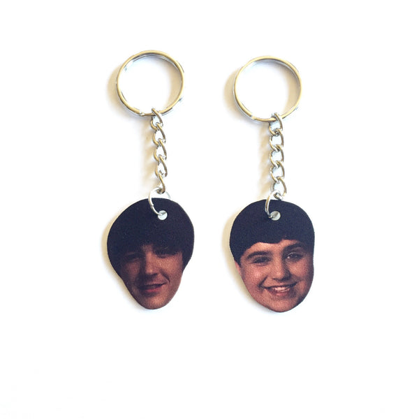 Drake and Josh Boobs Friendship Keychains
