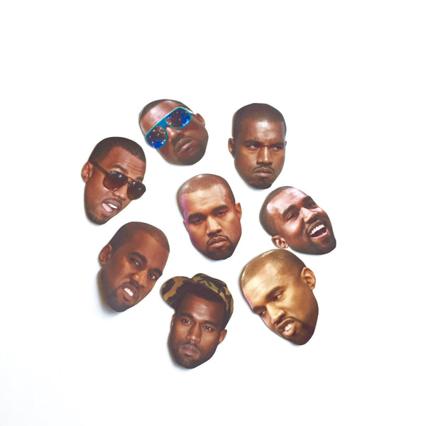 Kanye West Emotions Sticker Set