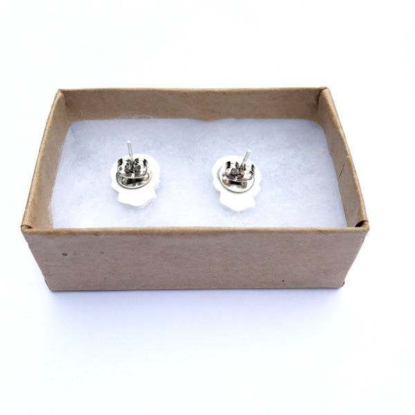 2Pac Stud Earrings - Tupac Stud Earrings - Hip Hop Rap - Music Studs