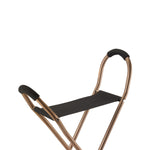 Folding Lightweight Cane with Sling Style Seat