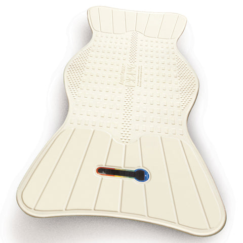 Non-Slip Bath Mat with Built-In Temperature Indicator