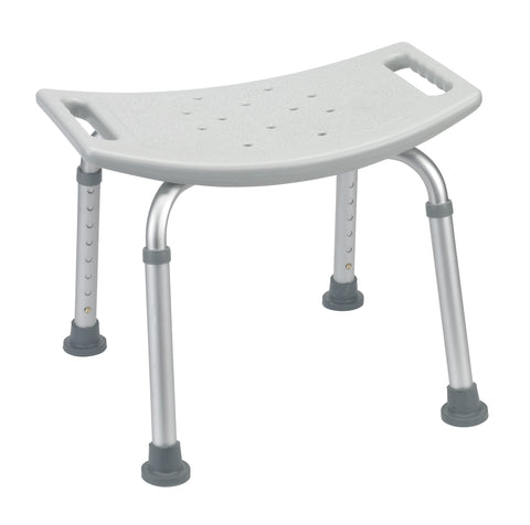 Bathroom Safety Shower Tub Bench Chair, Gray