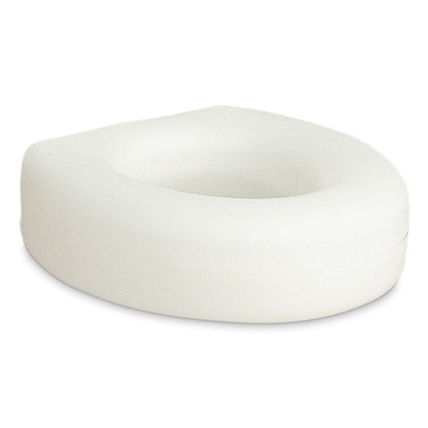Portable Raised Toilet Seat, White, 4""