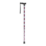 Comfort Grip T Handle Cane, Patriotic